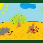 Осенняя полянка
