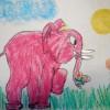 Слониха Лу-Лу — рисуйте с нами!