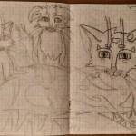 Школьные зарисовки или… рисунки на переменах