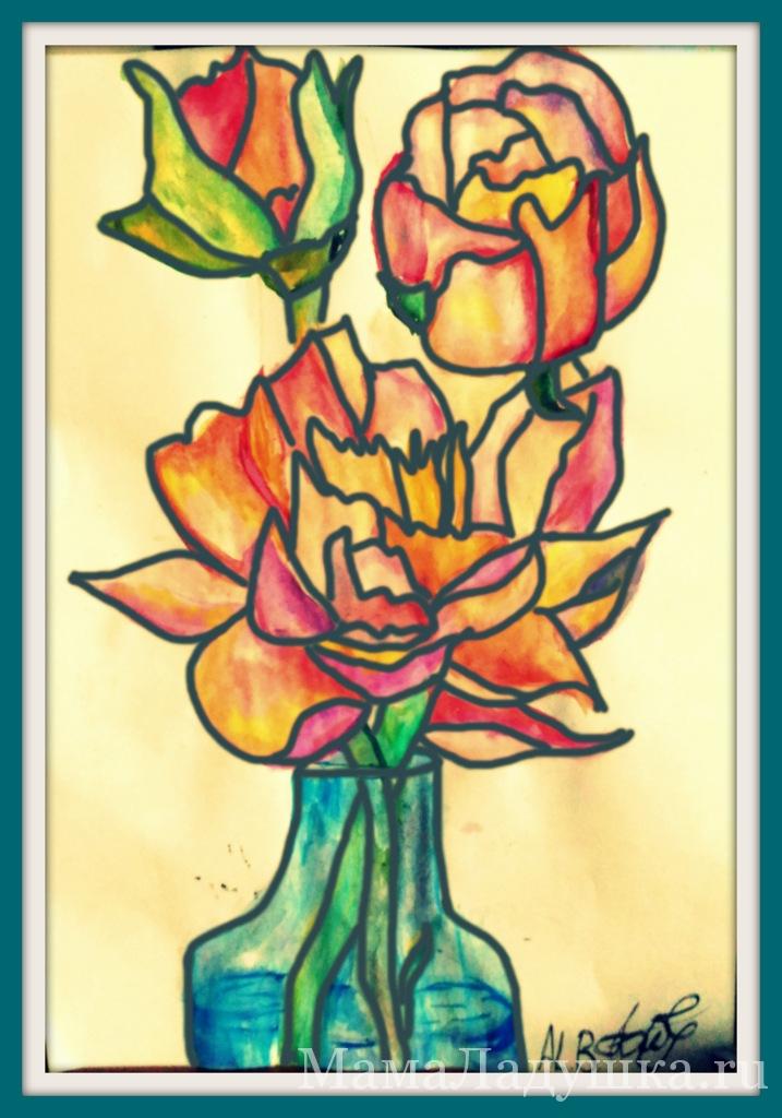Цветы (компьютерная обработка)