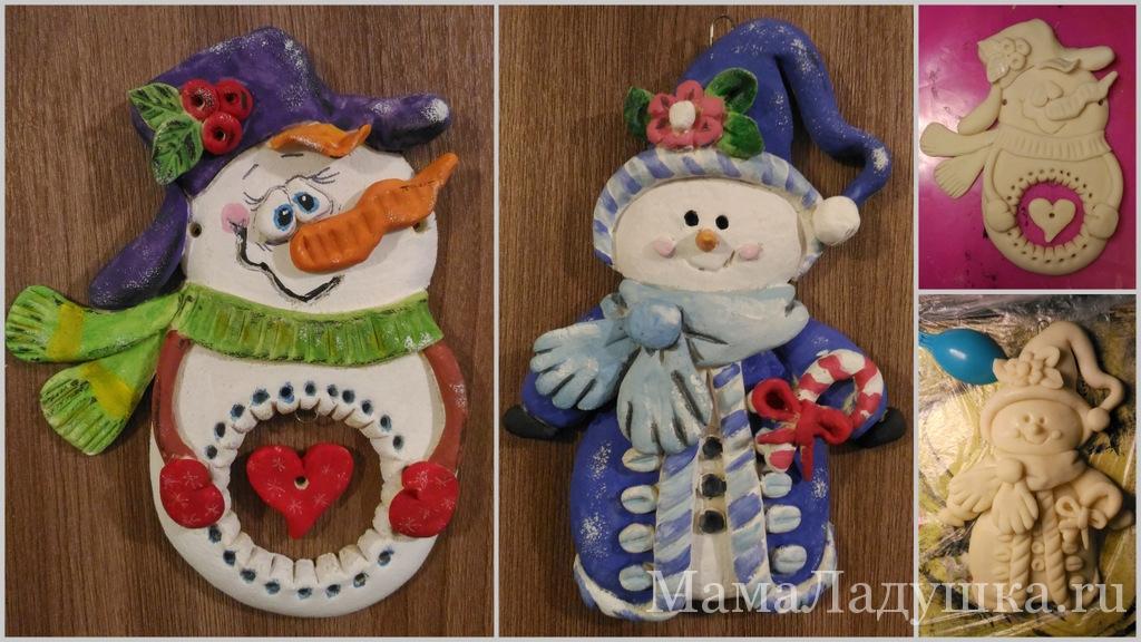два снеговика