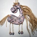 Сувенир-подвеска «Лошадка»