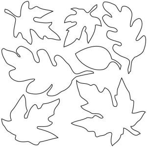 разные листья