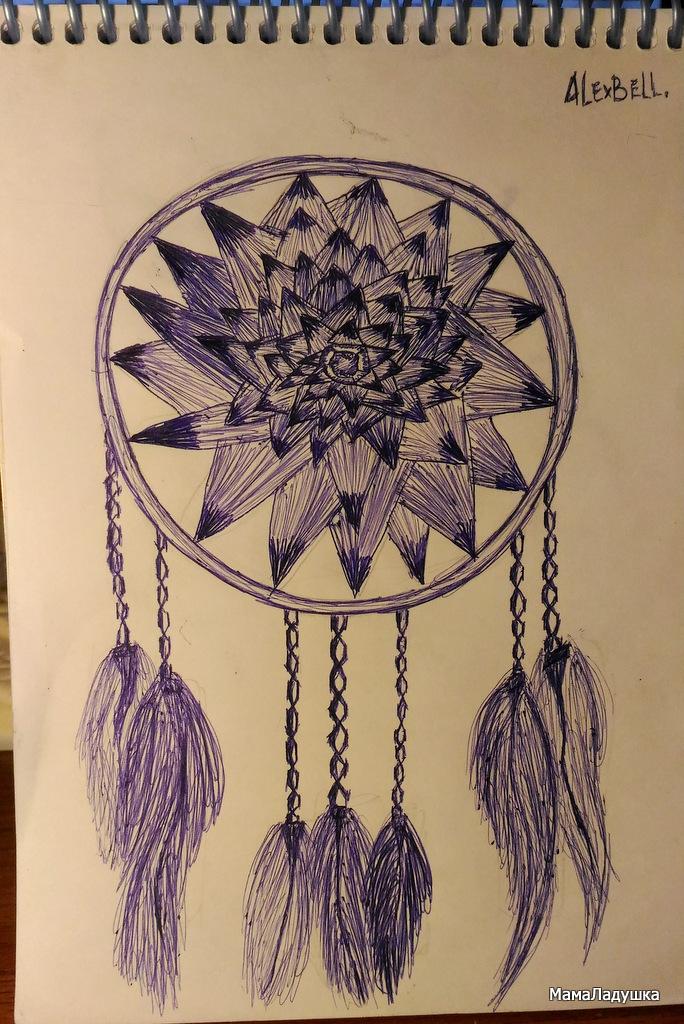 рисунки ручкой (1)