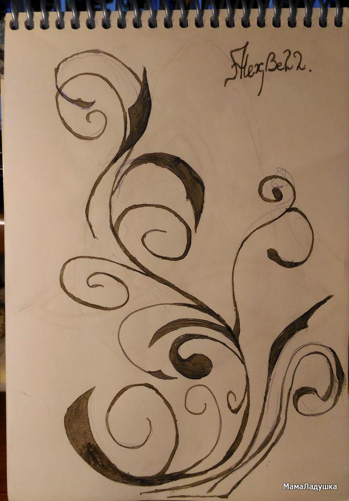 рисунки ручкой (2)