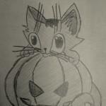 Карандашные рисунки на тему хеллоуина
