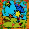 Осень — компьютерная графика