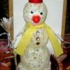 Снеговик идет в школу…