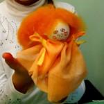 Простая пальчиковая куколка — фото — мастер — класс