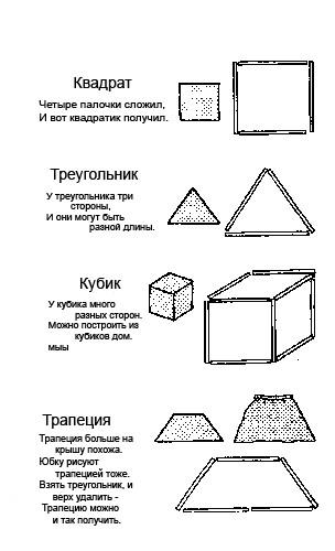 Все эти фигурки можно сделать из счётных палочек.  Тут вам и знакомство с геометрическими фигурами,и увлекательное...