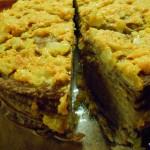 Печёночный тортик