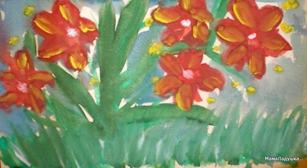 Сделать объемные цветы своими руками