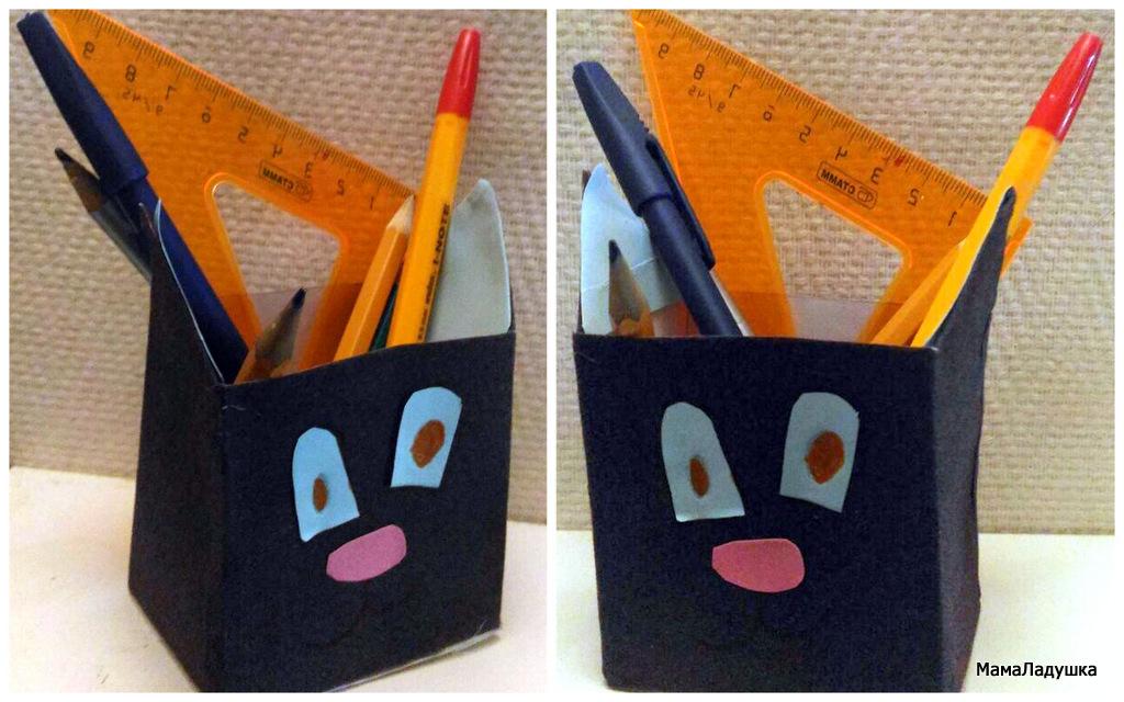 2 - Кот - карандашница
