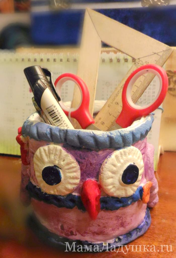 совушки-карандашницы (1)