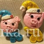 В коллекции свинок пополнение