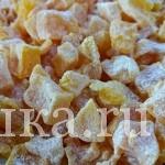 Полезные вкусняшки — цукаты из тыквы