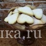 Домашнее сахарное песочное печенье