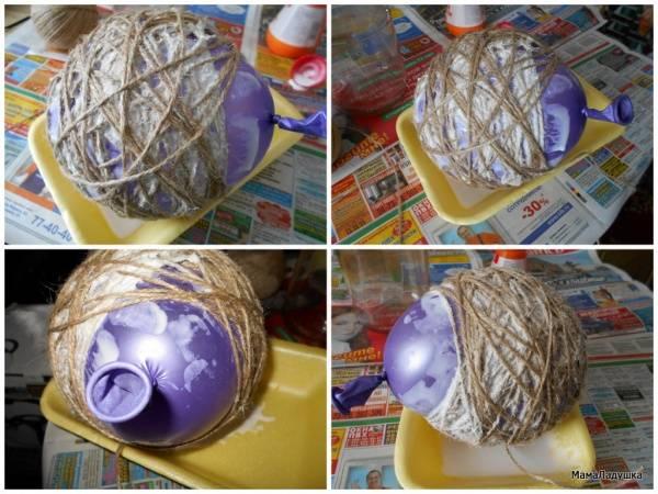 Как сделать топиарий с гнездом