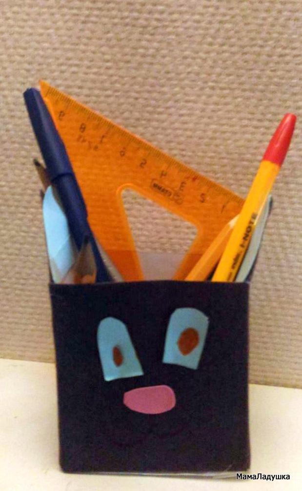 3 - Кот - карандашница