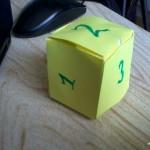 Воздушный кубик