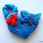 Сувениры из пластики на день влюблённых