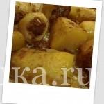 Картофельные башенки