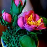 Мини-розочка из фоамирана