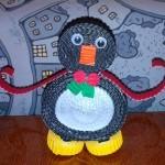 Пингвин — гофро-квиллинг