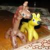 Жирафик и жеребёнок