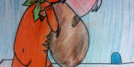 Рисуем кота в сапогах