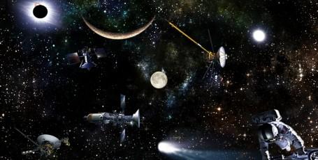 Космический коллаж