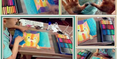 Радужный котик