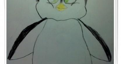 Рисуем пингвиненка