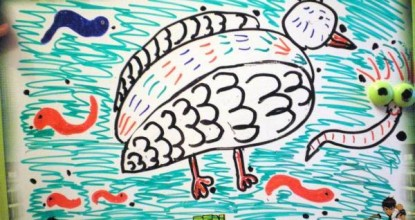 Рисунки в четыре цвета