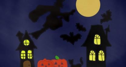 Хеллоуин — компьютерная графика