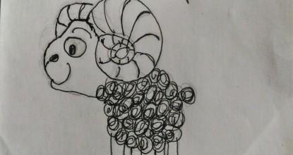 И снова Ёжкины рисунки