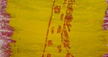 Рисуем восковыми мелками — Жирафик