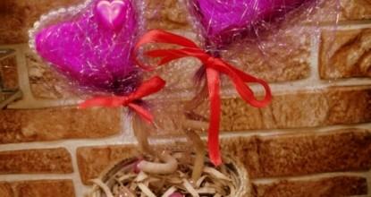Подарок на День Влюблённых своими руками