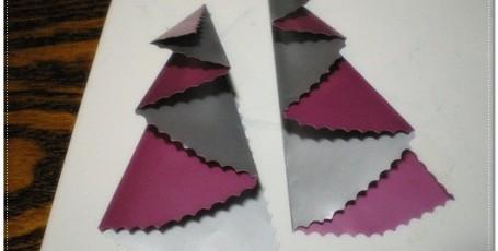 Двухцветная елочка