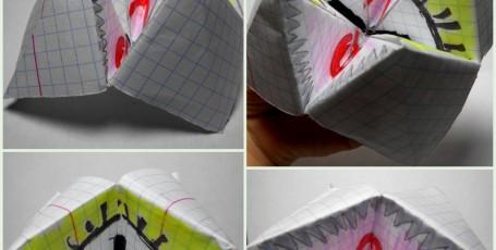 Оригами — игрушка-шутка