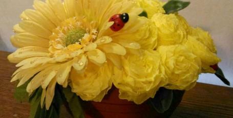Цветочный горшочек