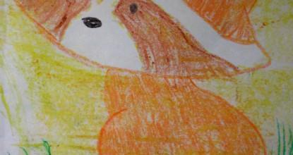 Рисуем восковыми мелками — Енотик.