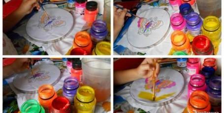Рисуем батиком