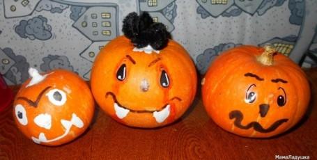 Хеллоуин —  Ёжкины поделки