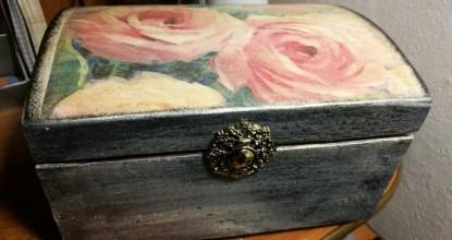 Старая шкатулка — реставрация