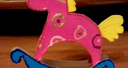 Открытка-лошадка