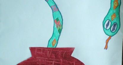 Змея в кувшине