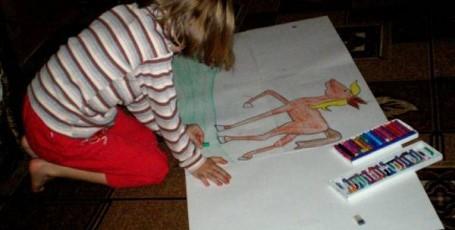 Рисуем лошадку