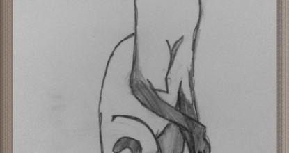 Рисуем КОШЕК — сиамская кошка