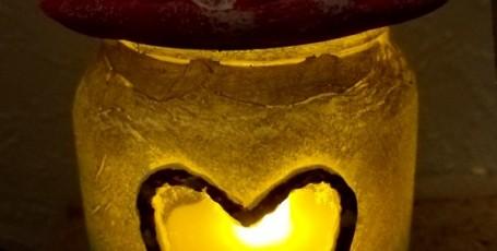 Грибочек — светильник на День Валентина